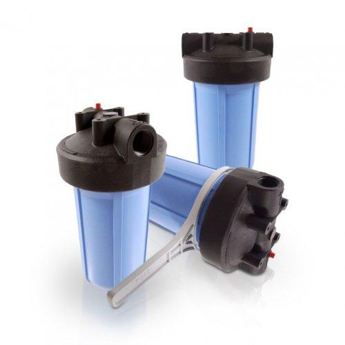 """Wasserfilter Gehäuse 10 ZOLL 3//4/"""" 5 AKTIVKOHLE Vor Filter System Brunnen Pumpe"""